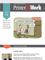 Printer@Work from Bailey Printing Inc.