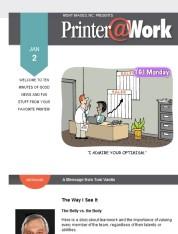 Printer@Work: Mini Brochures Get You Noticed!