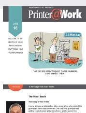 Printer@Work: Print to the Rescue!