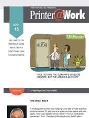 Printer@Work: 8 Ways to Build Customer Trust