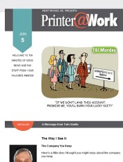 Printer@Work: An Easy Way to Boost Sales with Direct Mail