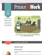 Printer@Work: Revise and Refresh with Rebranding!