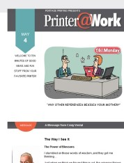 Printer@Work: Build Trust with Your Audience and Boost Credibility!