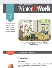Printer@Work: Crack the Code and Gain the Competitive Edge Today!
