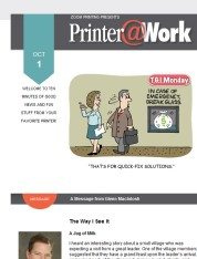 Printer@Work: 8 Tips to Attract New Customers