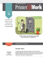 Printer@Work From King Printing