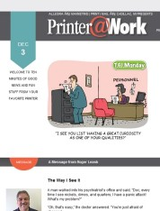 Printer@Work: 7 Creative Ways to Promote Your Content