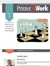 Printer@Work: 9 Creative Ways to Stay in Front of Your Audience