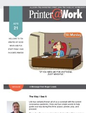 Printer@Work: Now is the Perfect Time to Focus on Your Customers